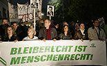 Tausende demonstrieren für Bleiberecht