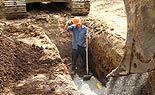 Kriegsrelikt auf Wiener Baustelle ausgegraben