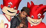 Shaggys Video-Clip in Berlin präsentiert