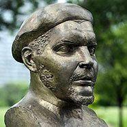 Che-Guevara-Büste im Donaupark hat eine neue Nase