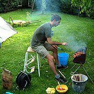Grill-Zubehör kann zur gefährlichen Stolperfalle werden