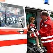 Kindgerechter Krankenwagen für Wien