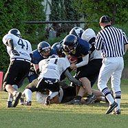 Knights und Titans treffen sich in der Iron Bowl