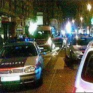 Mai: Polizeieinsatz am Westbahnhof gegen Fußball-Rowdies