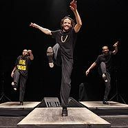 Open-Air-Performance von Savion Glover