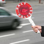 Verkehrskontrollen in Wien-Döbling