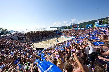 Mit austria.com und Checkfelix als VIP zum A1 Beach Volleyball Grand Slam!