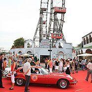 Oldtimer-Show im Prater am Riesenradplatz