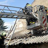 Zwei kleine Kinder bei Brand in Haus in Gänserndorf gestorben