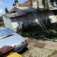 Kinder verbrannten im Haus: Eine halbe Stunde zu spät