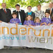 Kinder erobern Uni Wien