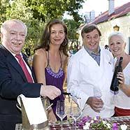 Promi-Koch Gerer kocht am Bisamberg