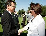 Darabos trifft Jelusic: Sicherheit am Balkan vorrangig