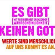 """Anti-Gott""-Plakate: Provokant oder Interessant?"