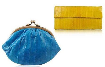 Aalglatte Taschen