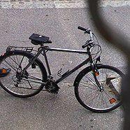 Autoeinbrecher flüchtete mit gestohlenem Fahrrad