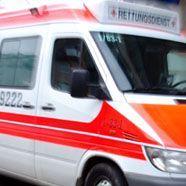 Mann bei Unwetter lebensgefährlich verletzt