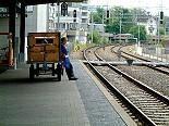Eisenbahner streiken in der Föderation