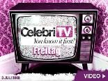 CelebriTV am 3. Juli 2009 – Dein Daily Video-Channel: Die coolsten Star-News des Tages!
