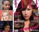"""""""Germany's Next Topmodel""""- Sara Nuru, Mandy Bork, Marie Nasemann: Cover-Lüge! Oder wieso ist keine der drei Finalistinnen auf dem Elle-Titel?"""