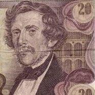 """20 Schilling-Banknote """"Carl Ritter von Ghega"""""""