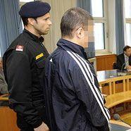 Der Angeklagte im Sekowitsch-Prozess vor dem Wiener Straflandesgericht