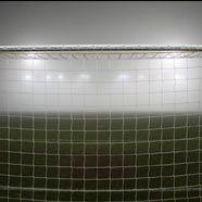 Dichter Nebel in der Halbzeit im Horr-Stadion