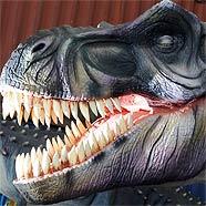 Dinosaurier bestaunen und Gutes tun.