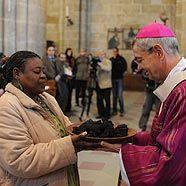Erzbischof Ludwig Schick während des Gottesdienstes zur Eröffnung der Adveniat-Aktion 2009