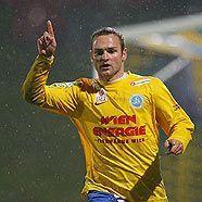 Kai Schoppitsch jubelt über das 2:0 gegen Dornbirn