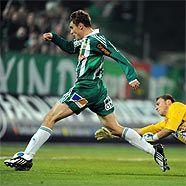 Nikica Jelavic erzielt Rapids 1:0 gegen Sturm Graz