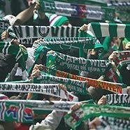 Rapid-Fans: 7.200 auf dem Weg nach Norden