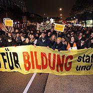Studentenproteste in Wien
