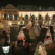 Weihnachtsmarkt am Riesenradplatz