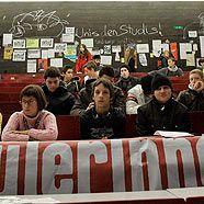 Studentenproteste: Audimax-Besetzer wollen Volksbegehren