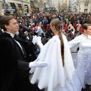 Wiener Tanzschulen starten mit Quadrille in die Ballsaison