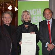 Ehrenpreis des österreichischen Buchhandels für Erika Pluhar