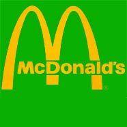 Mc Donald's gelbes M künftig auch vor grünem Hintergrund