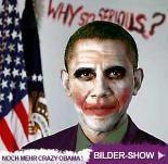 Bilder – Barack Obama, seine verrücktesten Photoshop-Pics: Der US-Präsident als Joker oder Callboy – Angelina Jolie dürfte das gefallen…