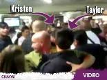 Video – Taylor Lautner & Kristen Stewart im Super-Chaos: Suchbild: Wo stecken in diesem Gewimmel Taylor und Kristen?