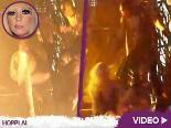 Video – Lady GaGas Bühnen-Sturz: Po-Landung! Oder macht sie sich nur über J.Lo lustig?