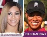 Bilder – Tiger Woods und Beyonce Knowles sind die Top-Verdiener: Sie scheffeln Millionen: Diese Stars verdienen wahnsinnige Gehälter!