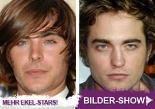 Bilder – Zac Efron & Robert Pattinson – Eke-Alarm!: Schnuffi-Image war gestern: Jetzt machen sie auf Schmuddel-Stars…