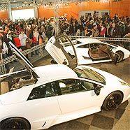 Schon bei der letzten Vienna Autoshow war der Zustrom enorm.