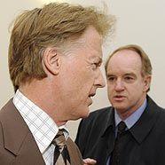 Albert Fortell und Bruder Marius Fortelni vor Gericht