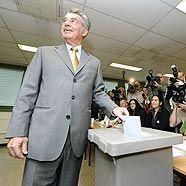 Heinz Fischer geht als klarer Wahlsieger hervor