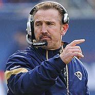 St. Louis Rams: Headcoach Steve Spagnuolo hat den ersten Pick