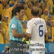 """Szene aus """"Referees at Work"""": """"Man ist nicht Gott, man macht auch Fehler"""""""