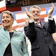 Wahlkampf-Abschluss von Rosenkranz und Fischer in Wien