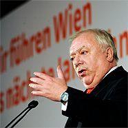 Wenig übberraschend als Spitzenkandidat gesetzt: BM Michael Häupl